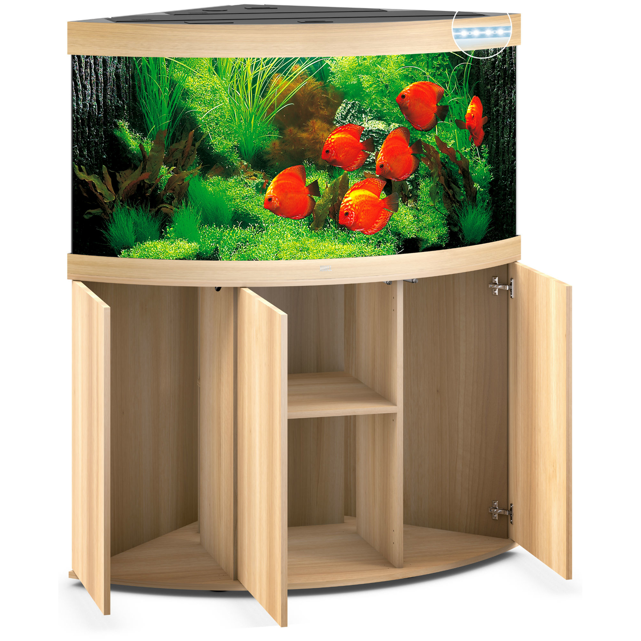 Juwel Trigon 350 LED Eck-Aquarium mit Unterschrank, Bild 12