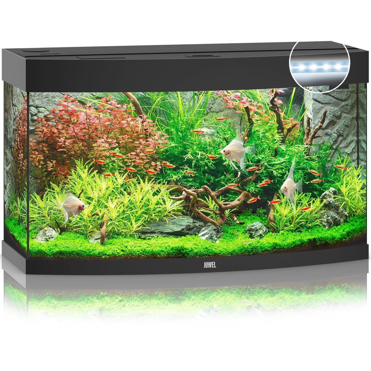 JUWEL Vision 180 LED Aquarium, 180 Liter, schwarz
