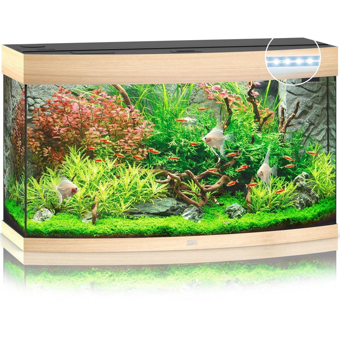 JUWEL Vision 180 LED Aquarium, 180 Liter, beige