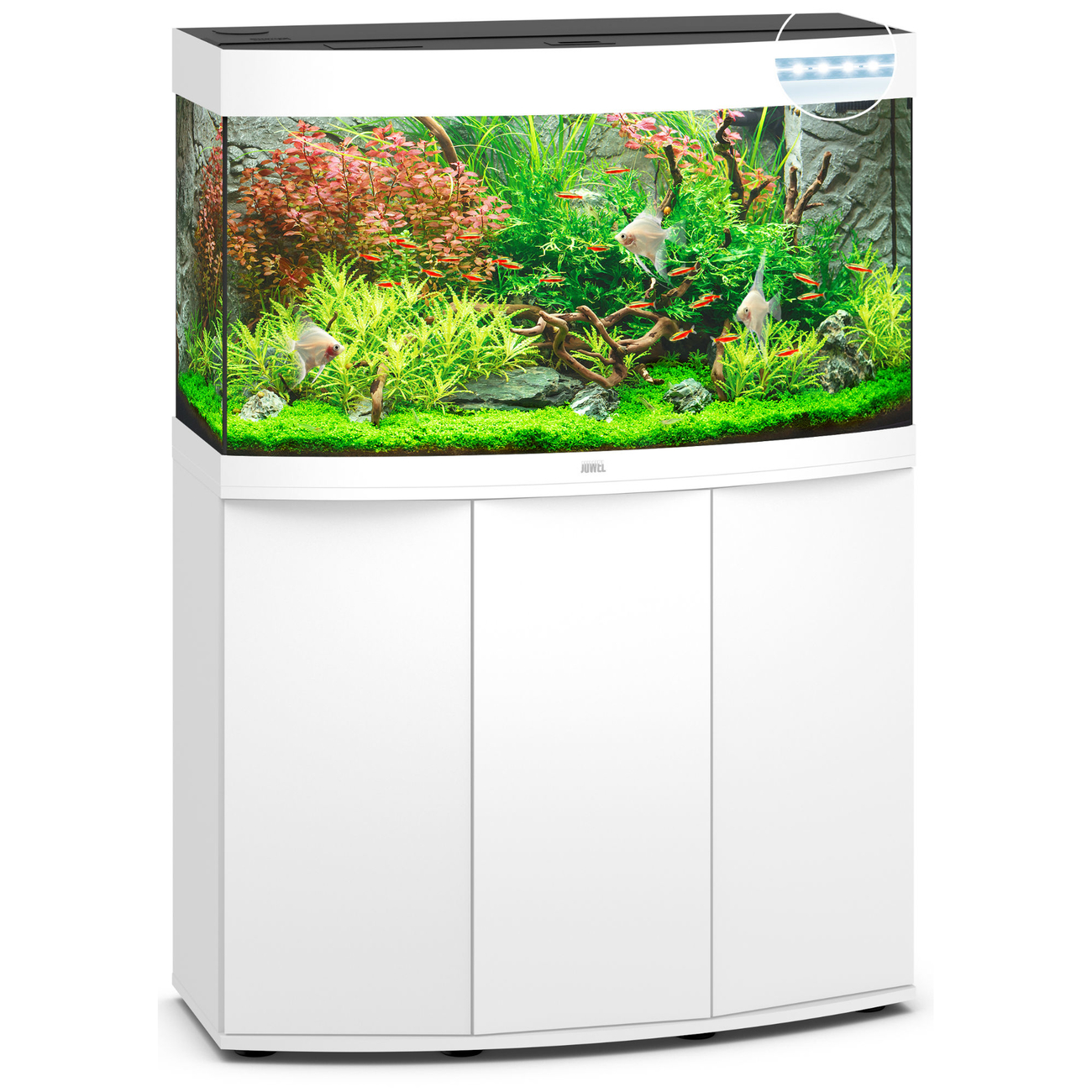 Juwel Vision 180 LED Aquarium mit Unterschrank