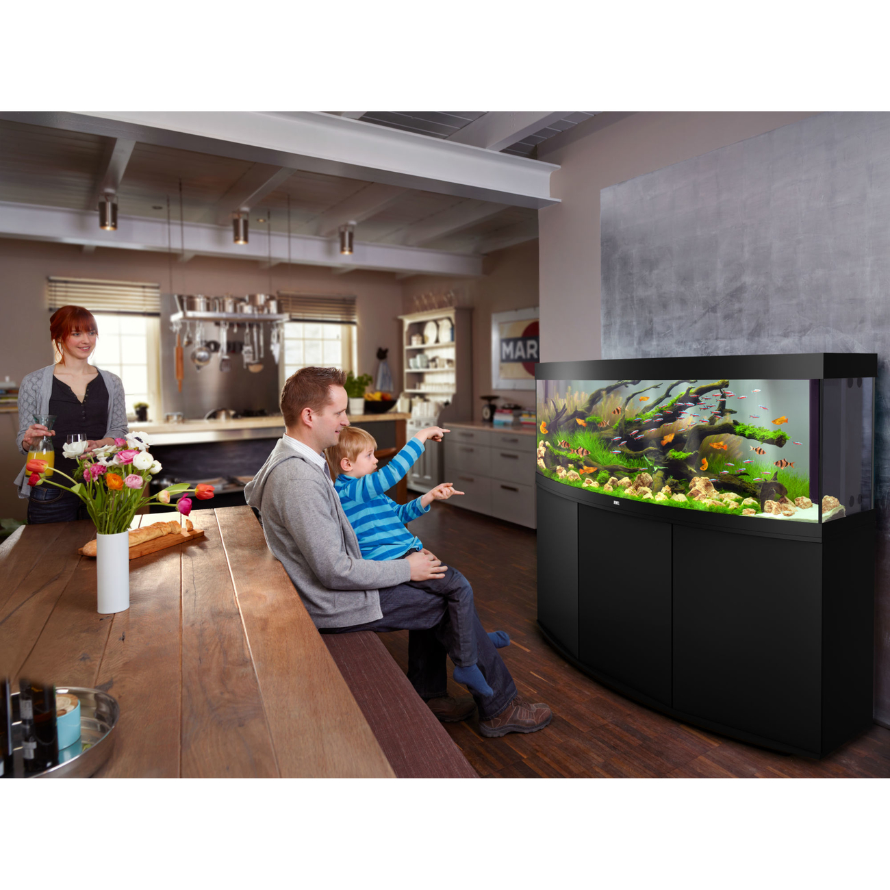 Juwel Vision 450 LED Aquarium mit Unterschrank, Bild 4