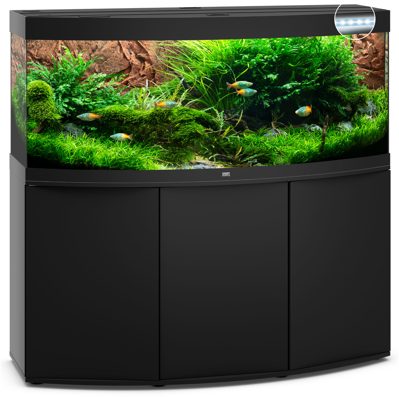 Juwel JUWEL Vision 450 LED Aquarium mit Unterschrank