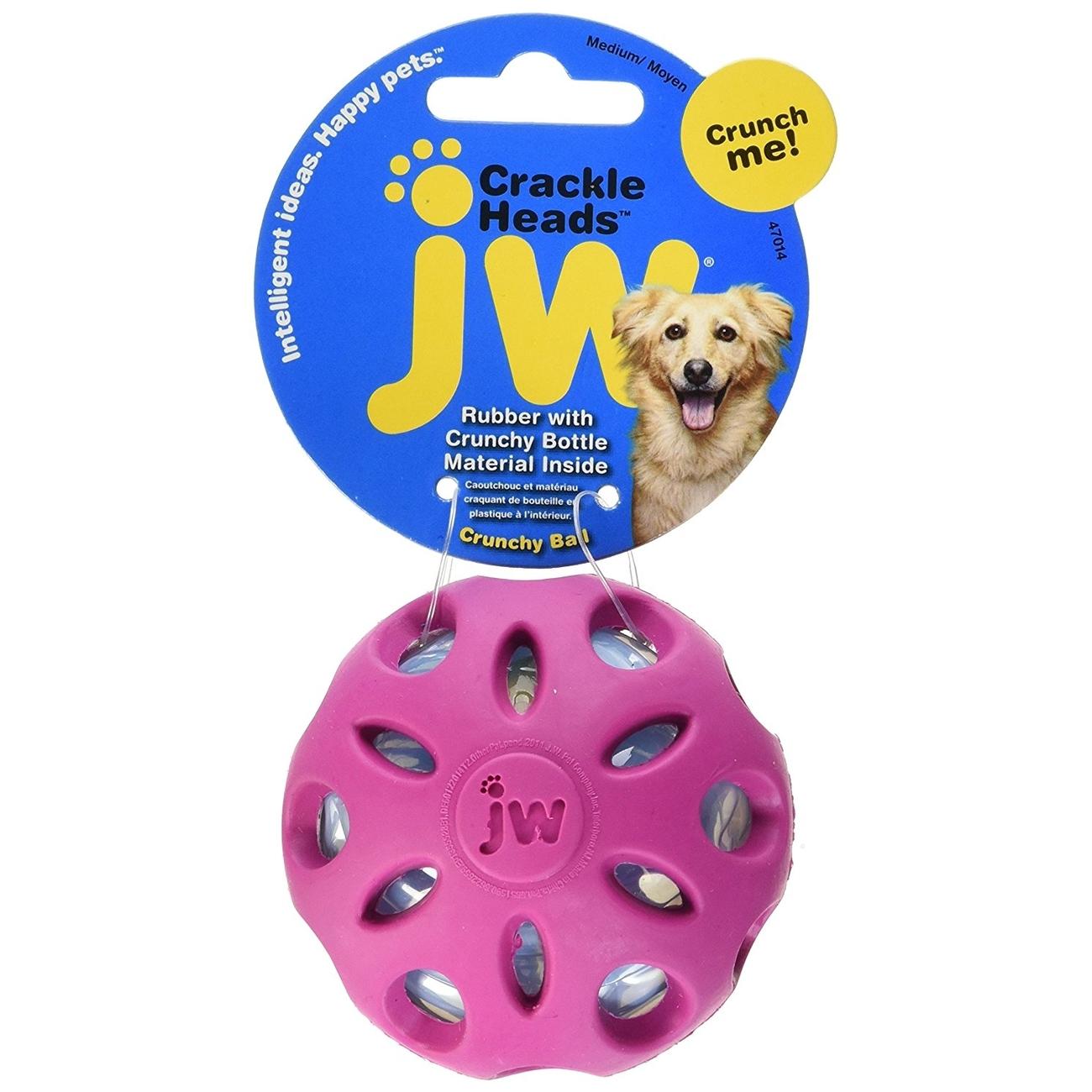 JW Pet Crackle Ball Hundespielzeug