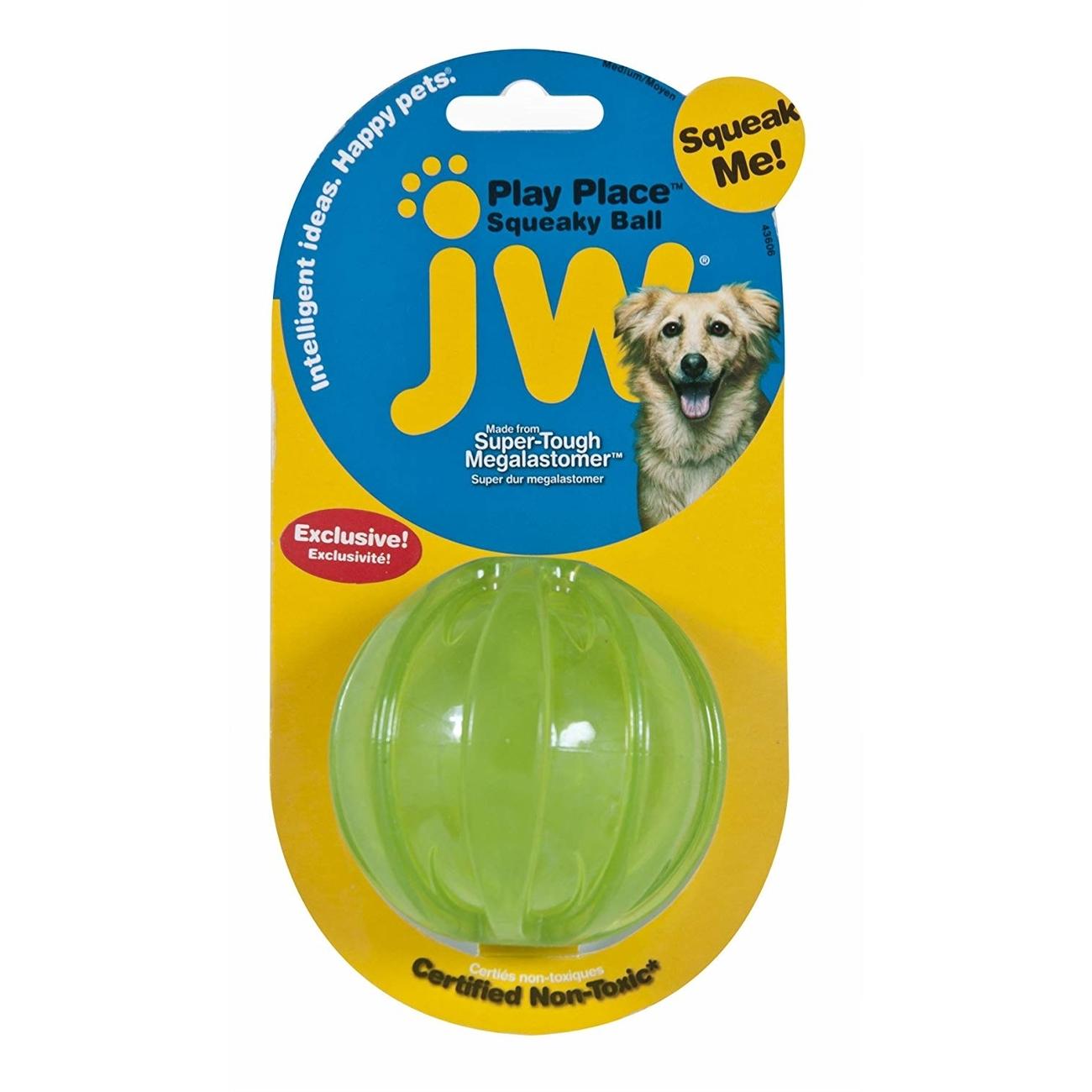 JW Pet Squeacky Ball Quietschball, Bild 3
