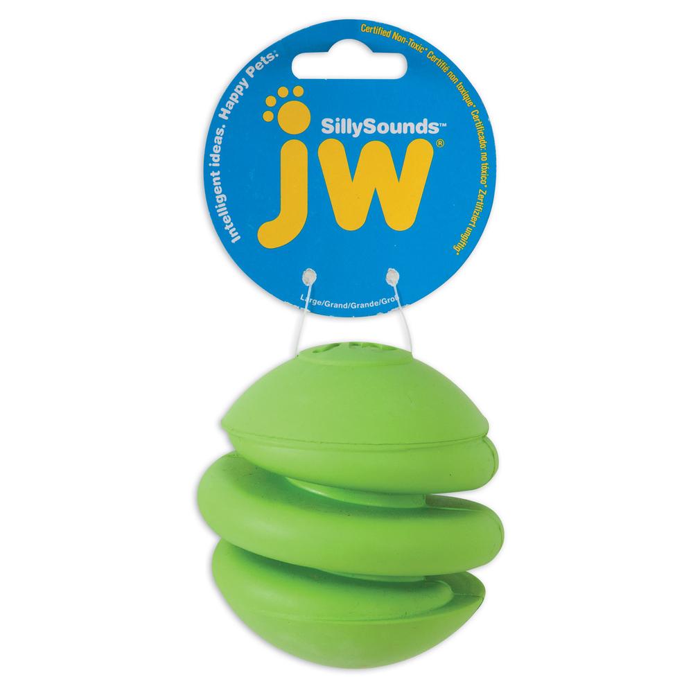 JW Pet JW SILLYSOUNDS Spring Ball