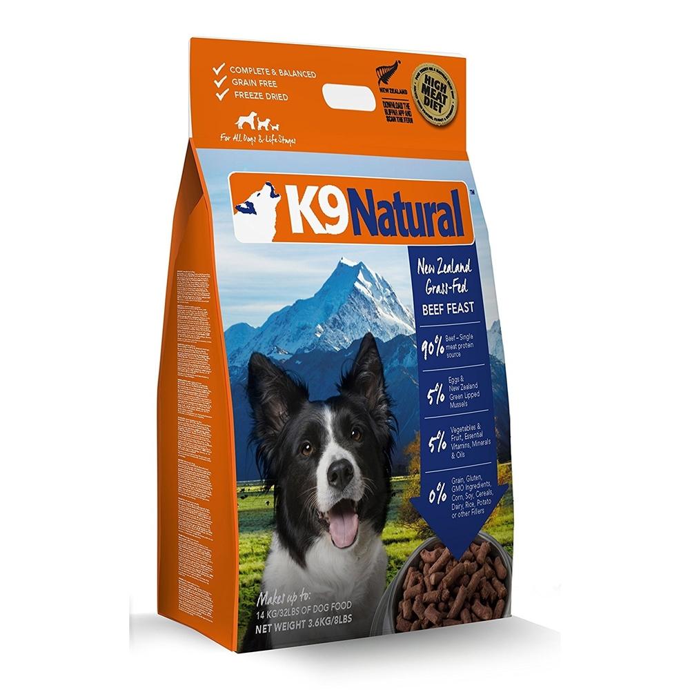 K9 Natural Beef Hundefutter mit Rind