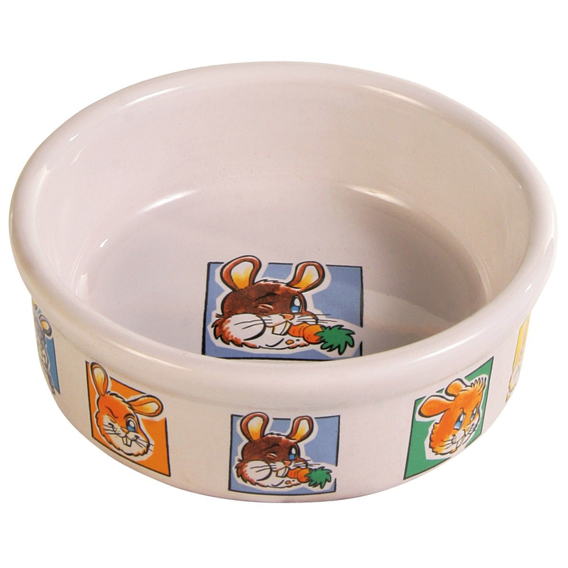 Trixie Keramik Kaninchennapf mit Motiv 62953