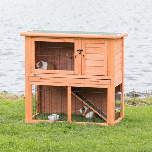 TRIXIE Kaninchenstall Hasenstall Natura mit Freigehege 62301, Bild 2