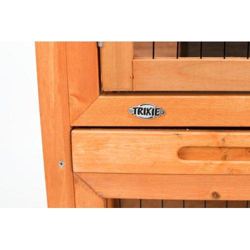 TRIXIE Kaninchenstall Hasenstall Natura mit Freigehege 62301, Bild 9