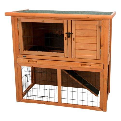 TRIXIE Kaninchenstall Hasenstall Natura mit Freigehege 62301