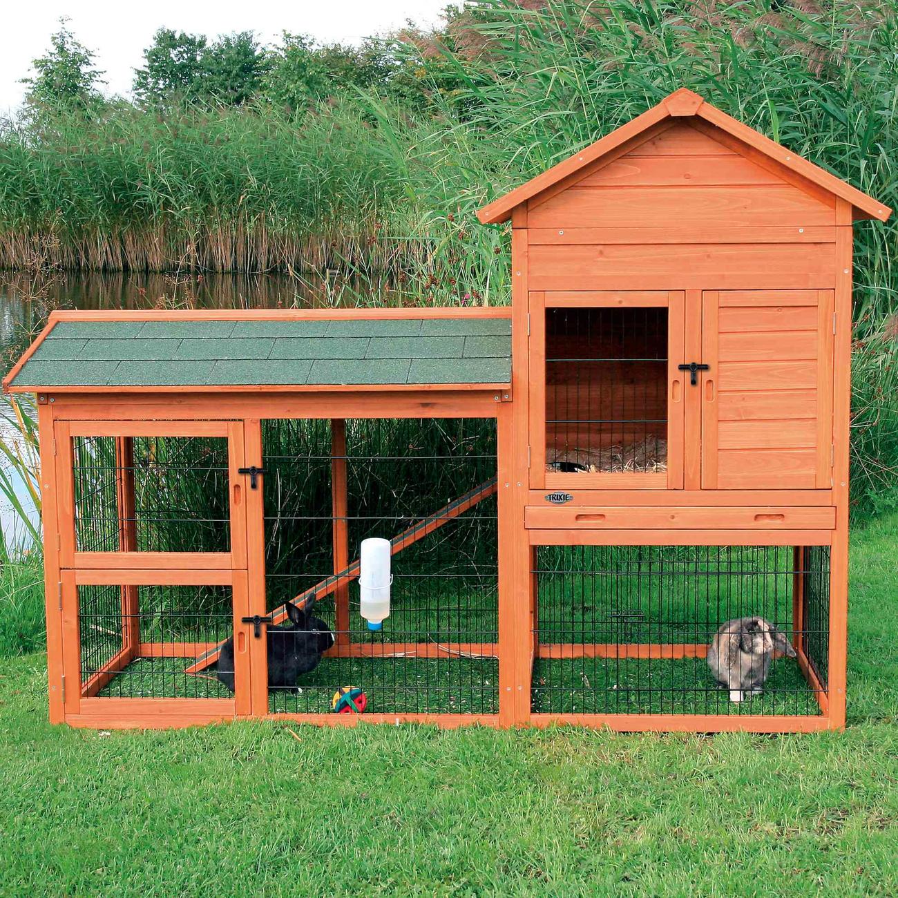 Trixie Kaninchenstall Natura mit Auslauf 62332