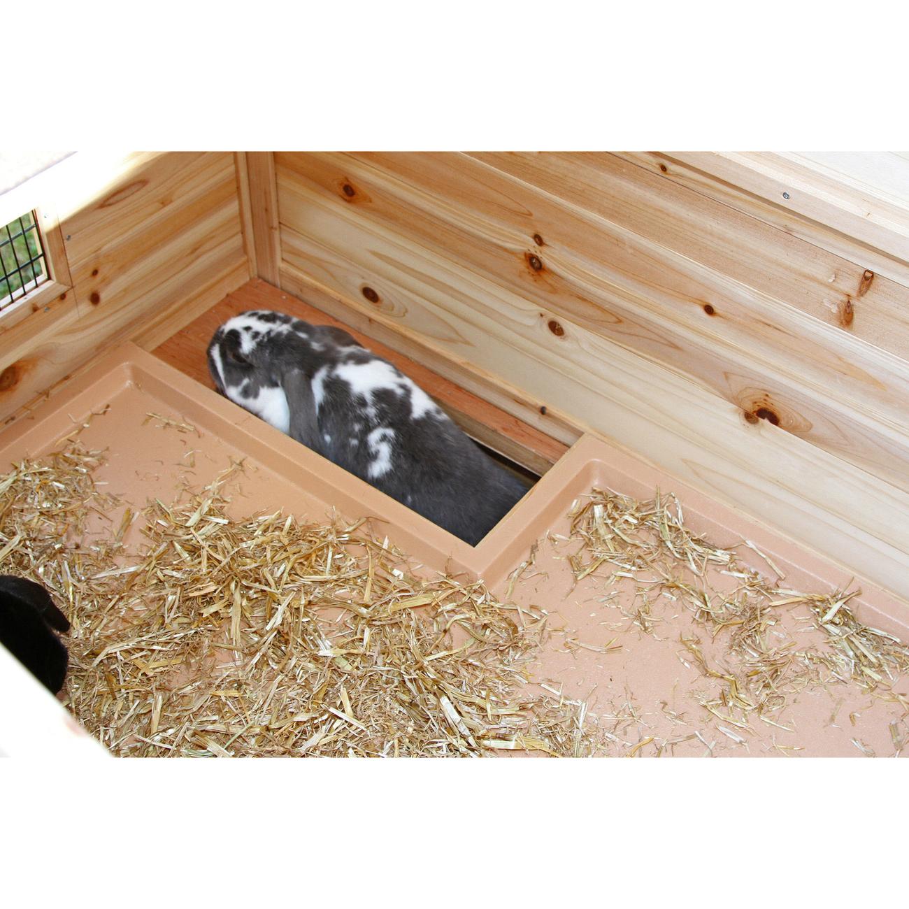 Kerbl Kaninchenstall Tyrol wärmeisoliert, Bild 6