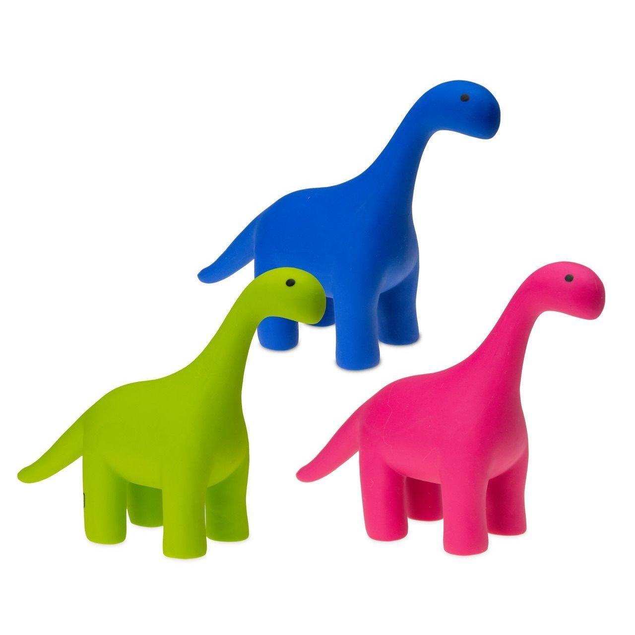 Karlie Dinosaurier aus Latex, ein Stück - 21 x 6 x 15 cm - grün