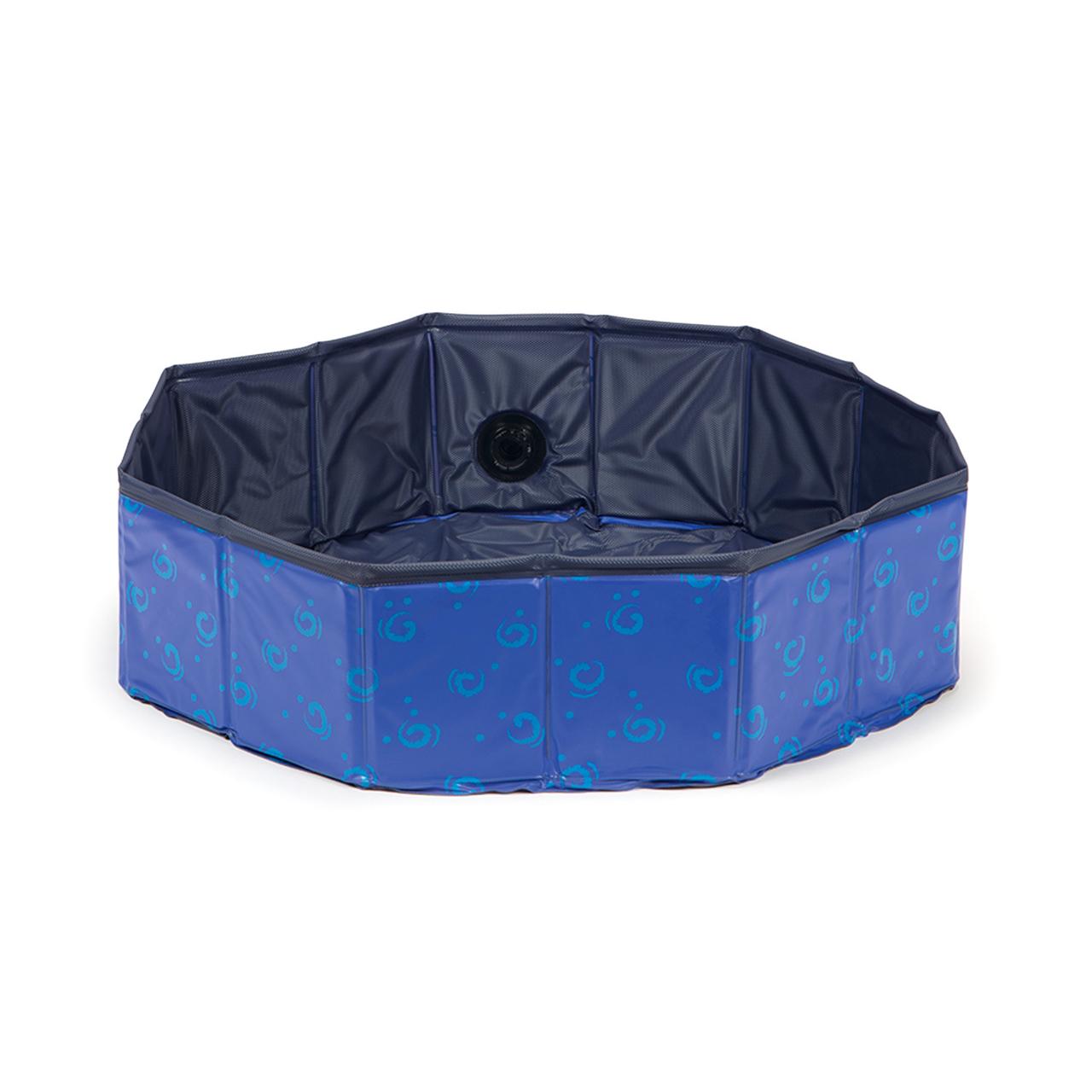 Karlie Doggy Pool, blau - H: 30 cm ø: 160 cm
