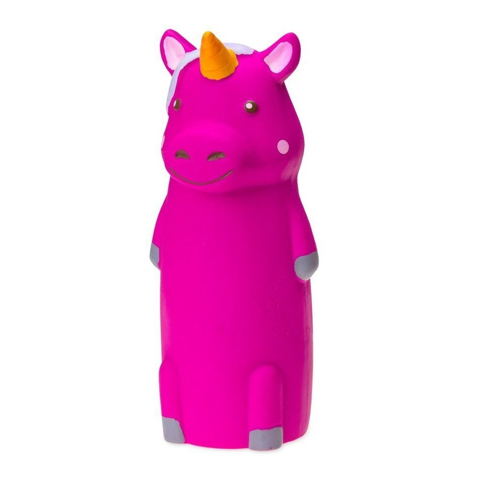 Karlie Figuren aus Latex, Hippo - 19,5 x 6,5 x 6,5 cm - pink