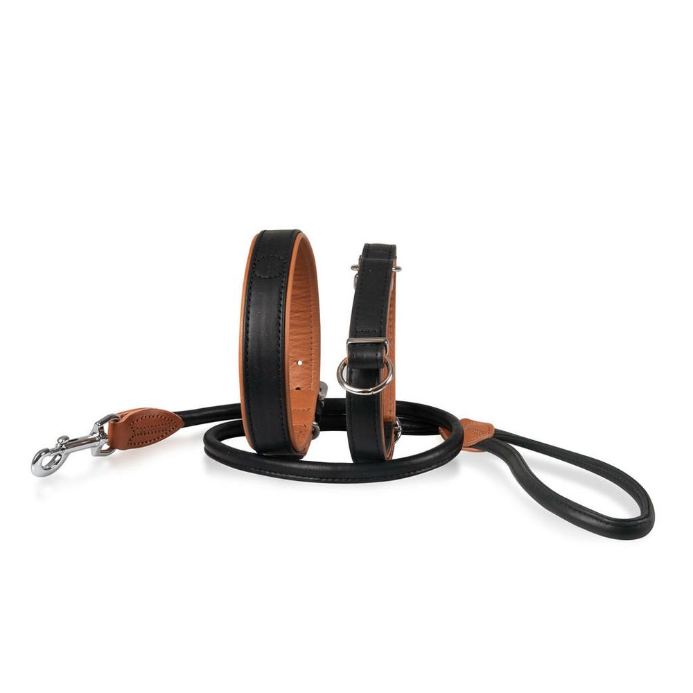Karlie Hunde Halsband Leder Jockey, Bild 3