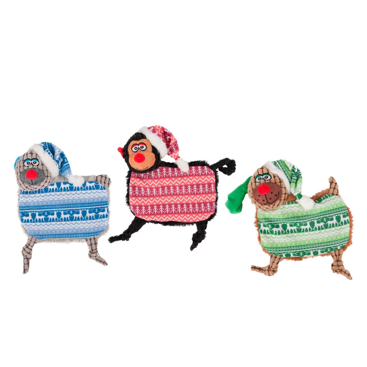 Karlie Hunde Weihnachtsspielzeug Plüsch, 26 cm Knister