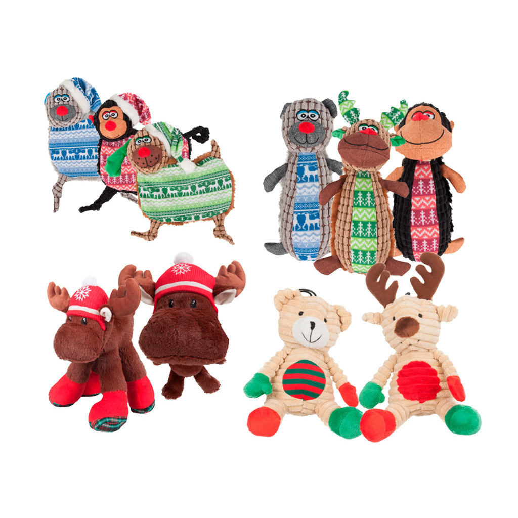 Karlie Hunde Weihnachtsspielzeug Plüsch