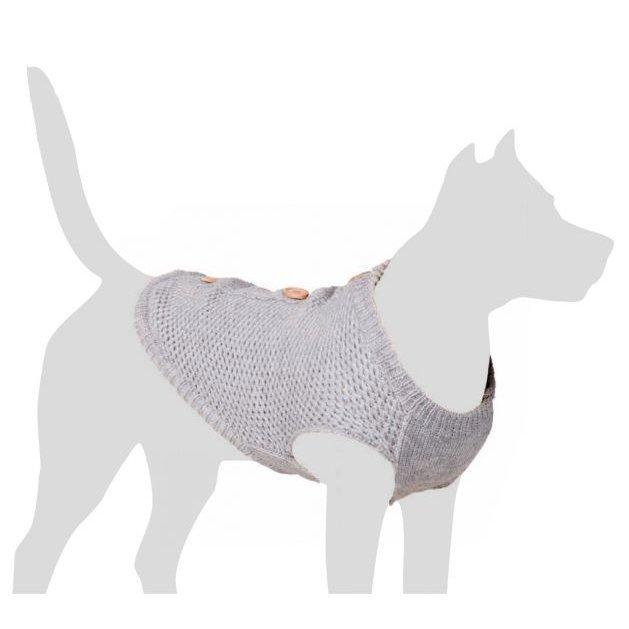 Beeztees Hundepullover Buttons, Bild 2