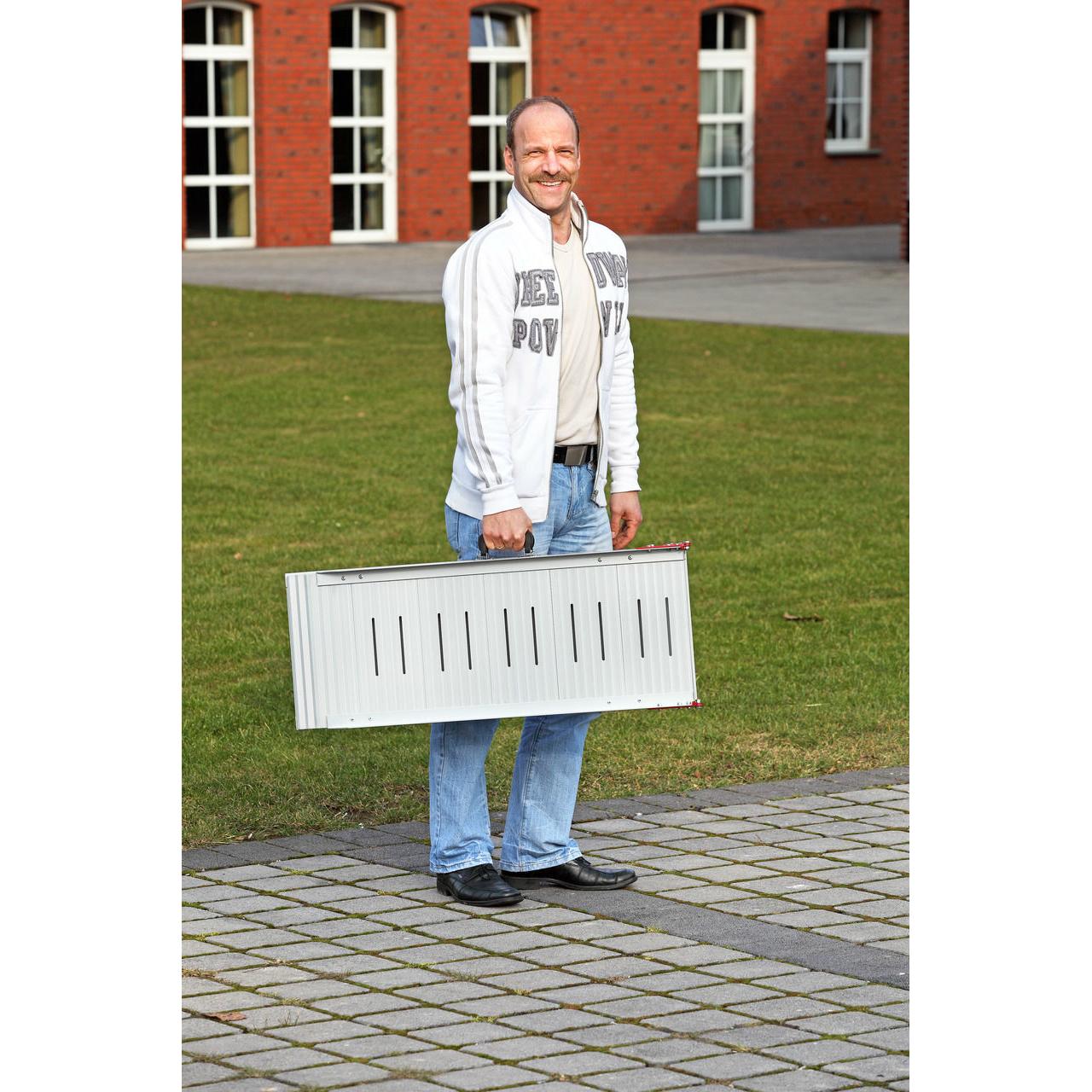 Karlie Hunderampe Aluminium, Bild 3