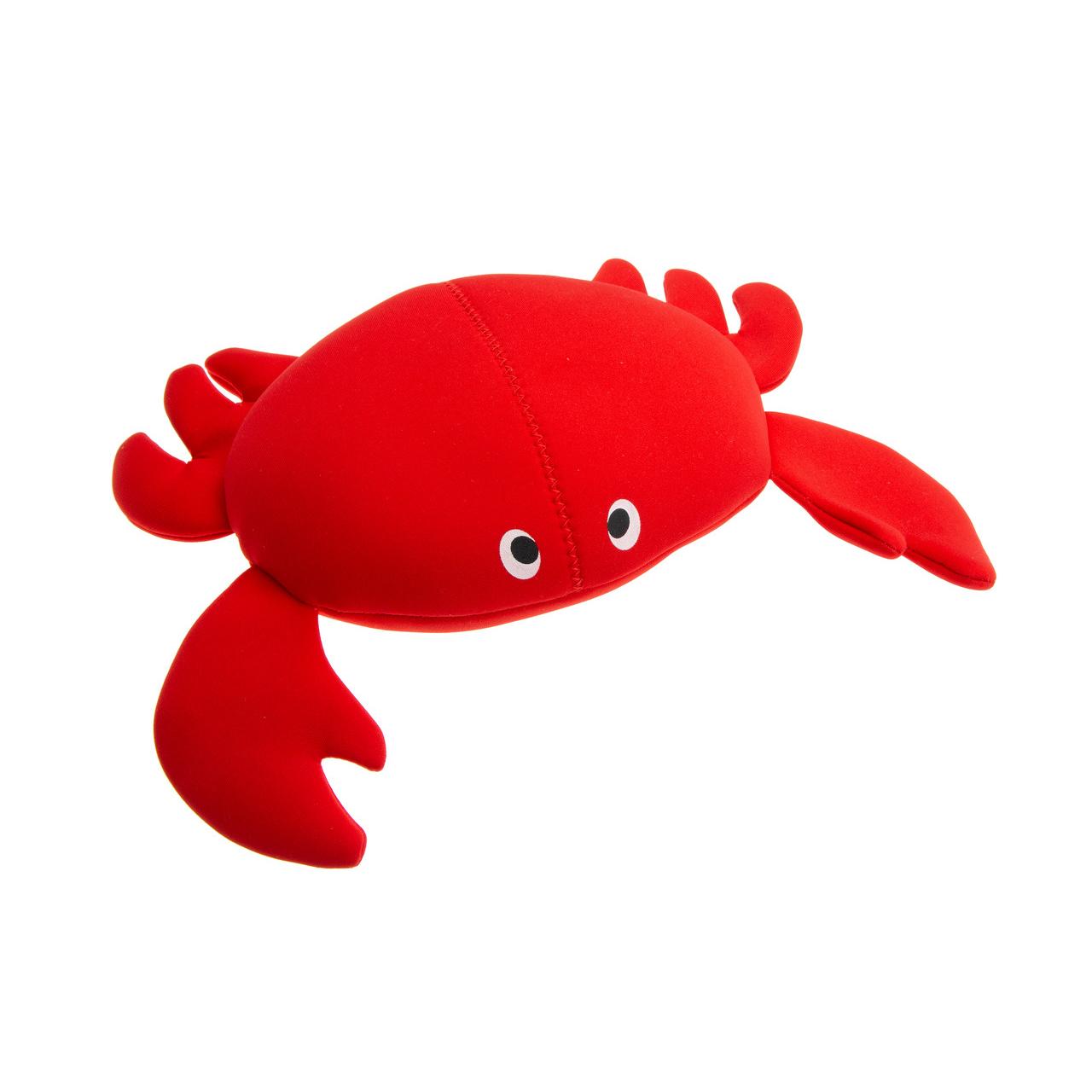 Karlie Wasserspielzeug Hundespielzeug aus Neopren, Crabsy, rot - L: 30 cm B: 23 cm H: 9 cm
