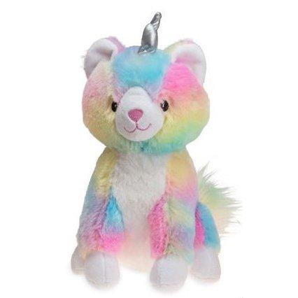 Karlie Hundespielzeug in Regenbogenfarben, Einhornkatze - 26 x 15 x 24 cm - bunt