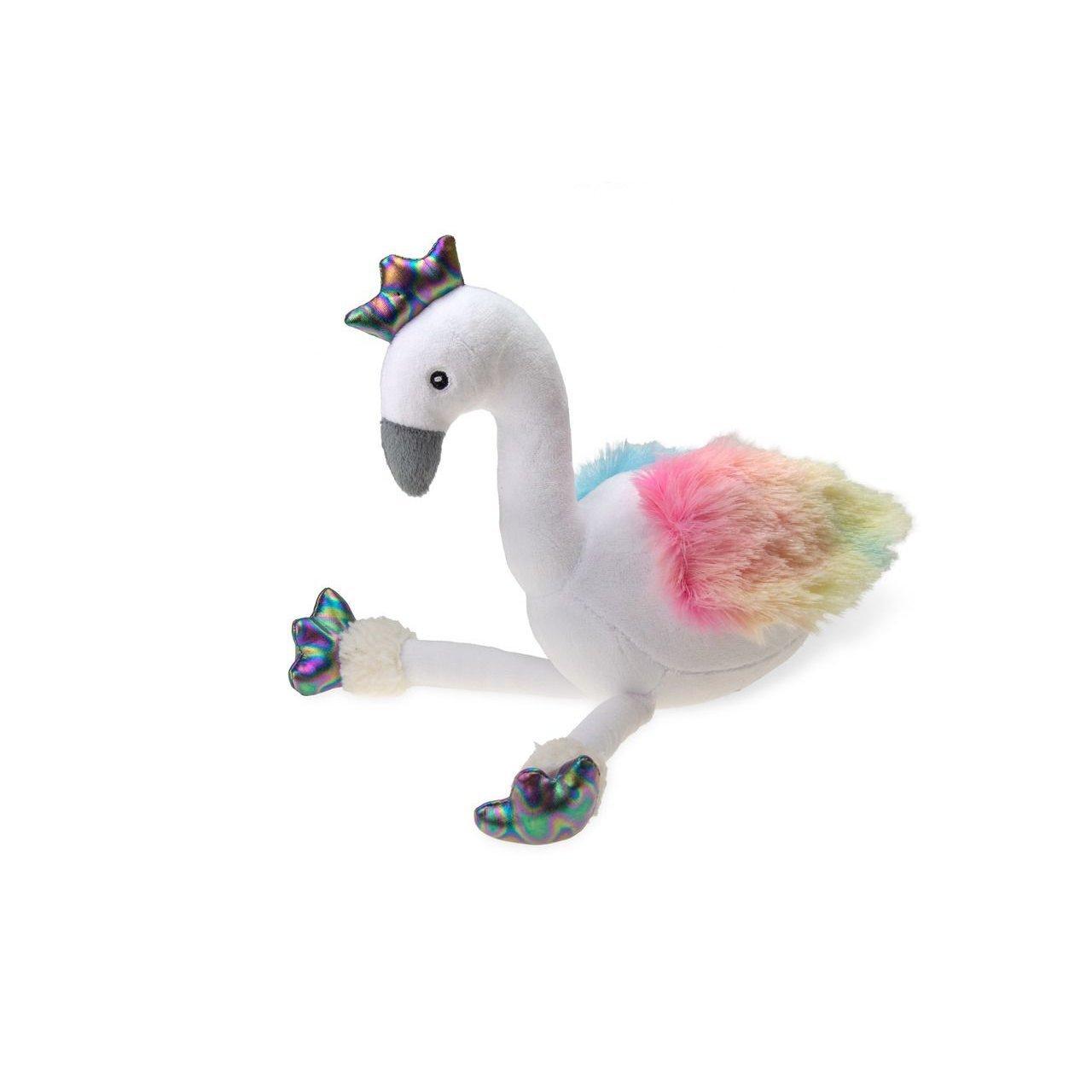 Karlie Hundespielzeug in Regenbogenfarben, Flamingo - 33 x 18 x 20 cm - bunt