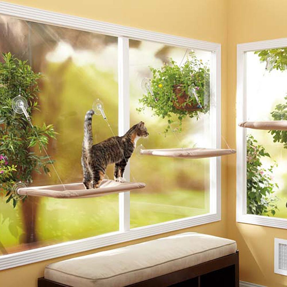Oster Katzen Fensterhängematte Sunny Seat, Bild 3