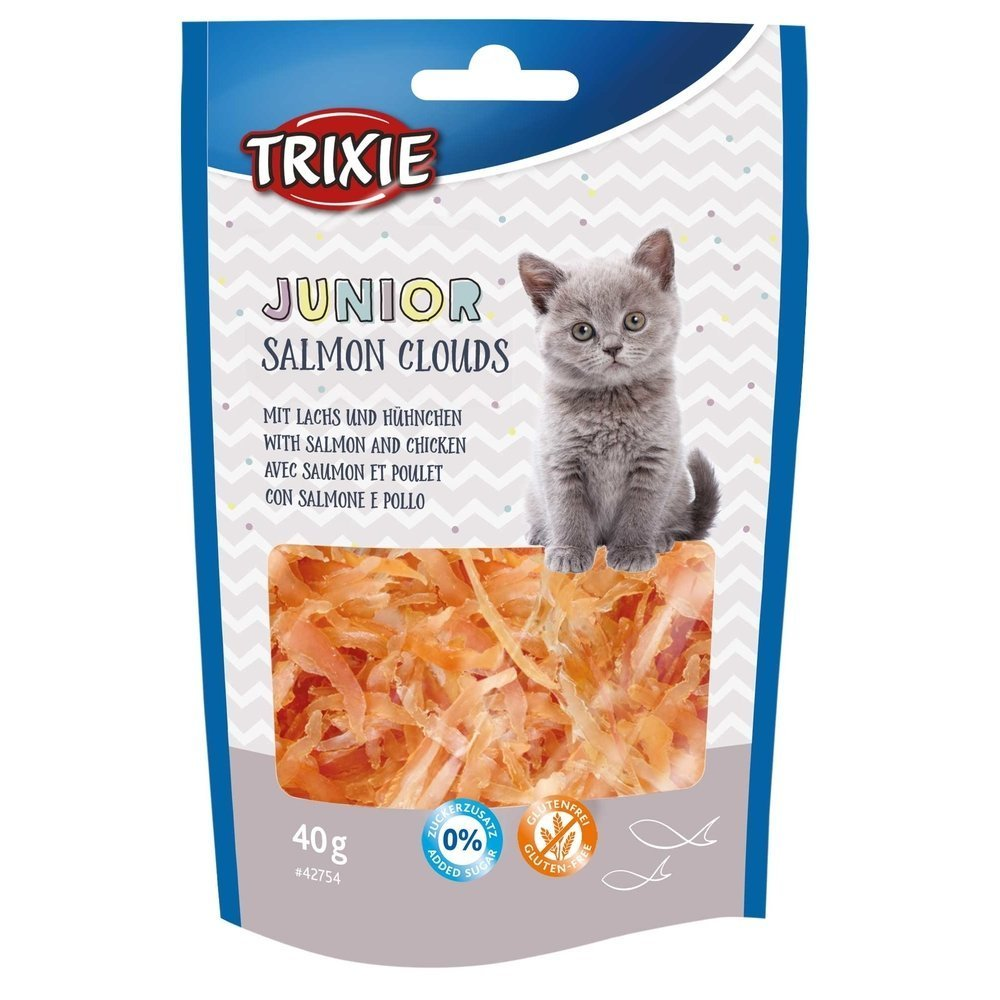 TRIXIE Katzensnack Junior Salmon Clouds 42754