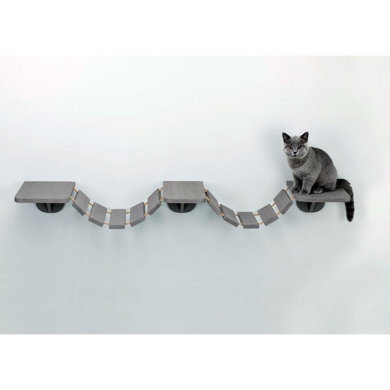 Trixie Katzen Kletterleiter zur Wandmontage 49930