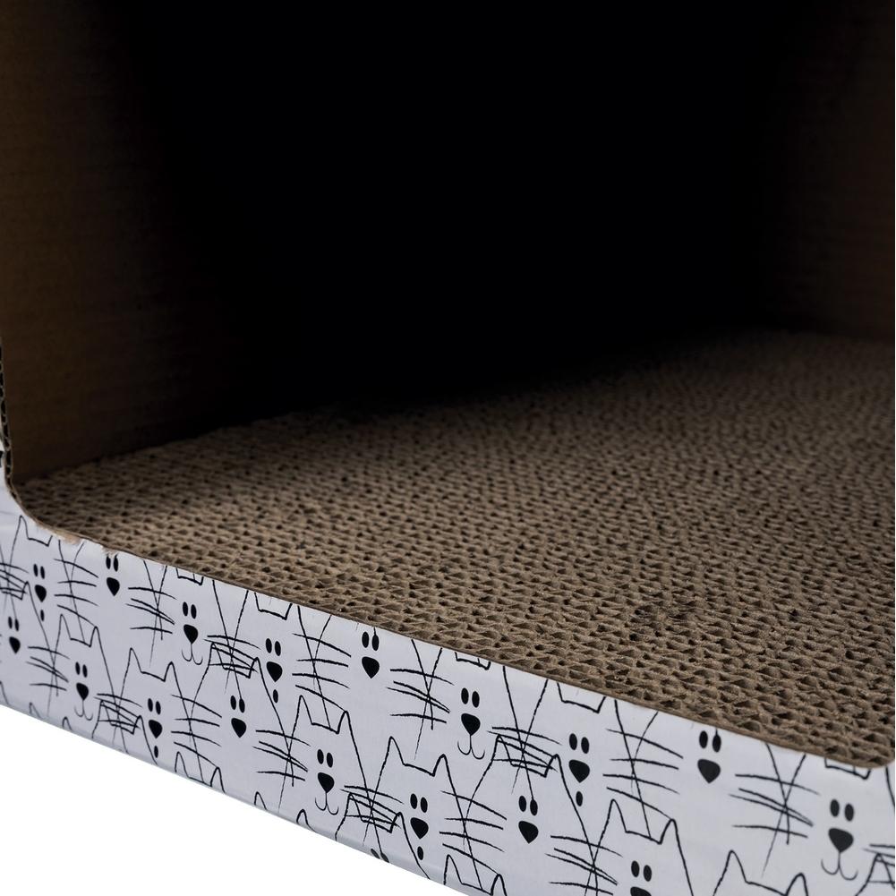 Trixie Katzen Kratzhaus aus Pappe 48010, Bild 3
