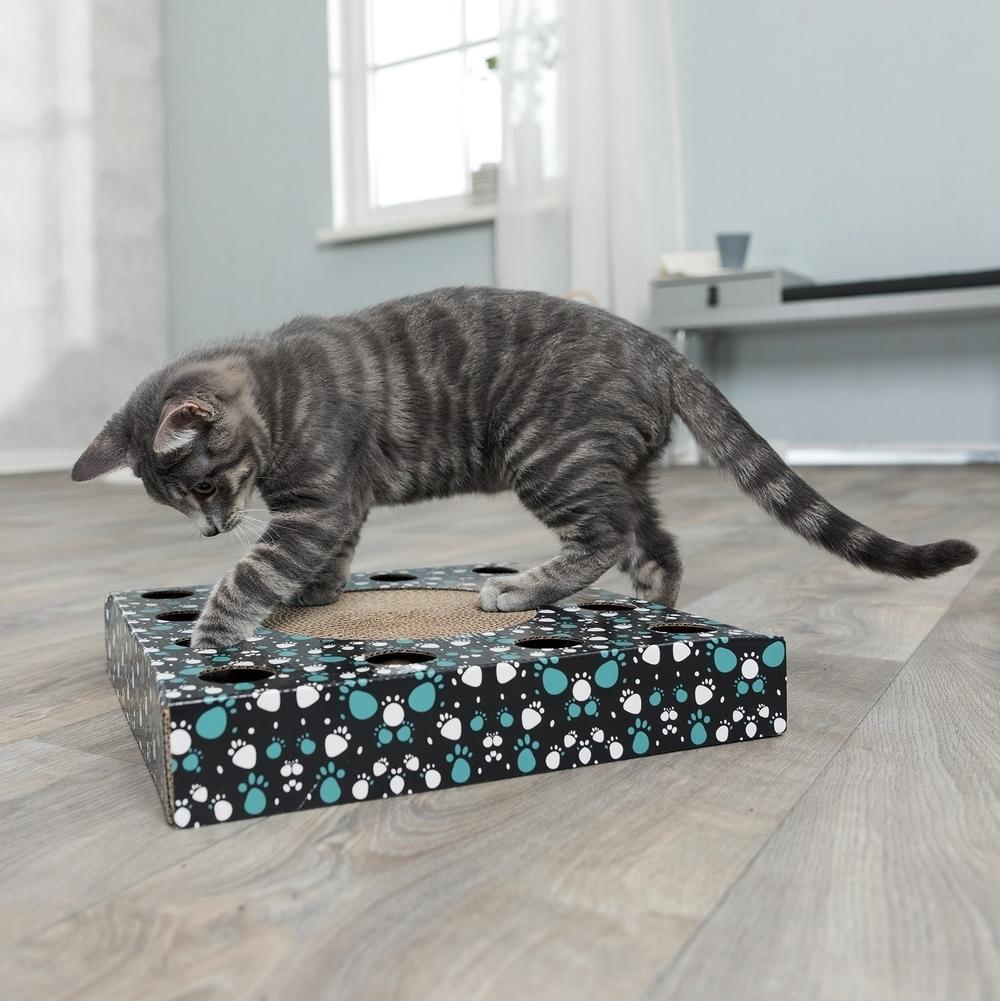 Trixie Katzen Kratzpappe mit Spielzeug 48007, Bild 3
