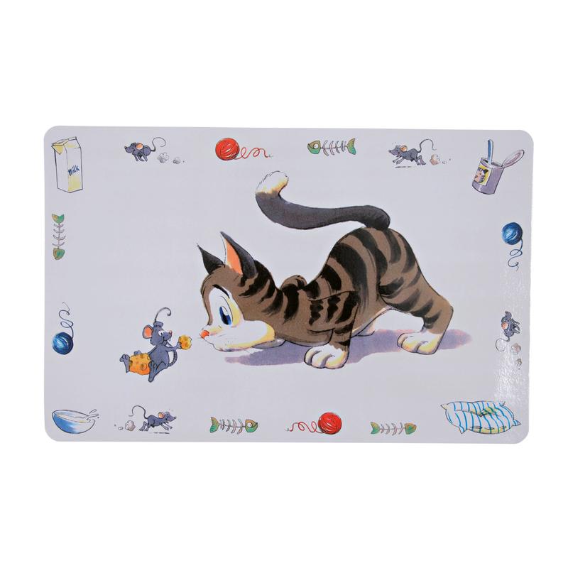 Trixie Katzen Tischset Comic-Katze, 44 x 28 cm