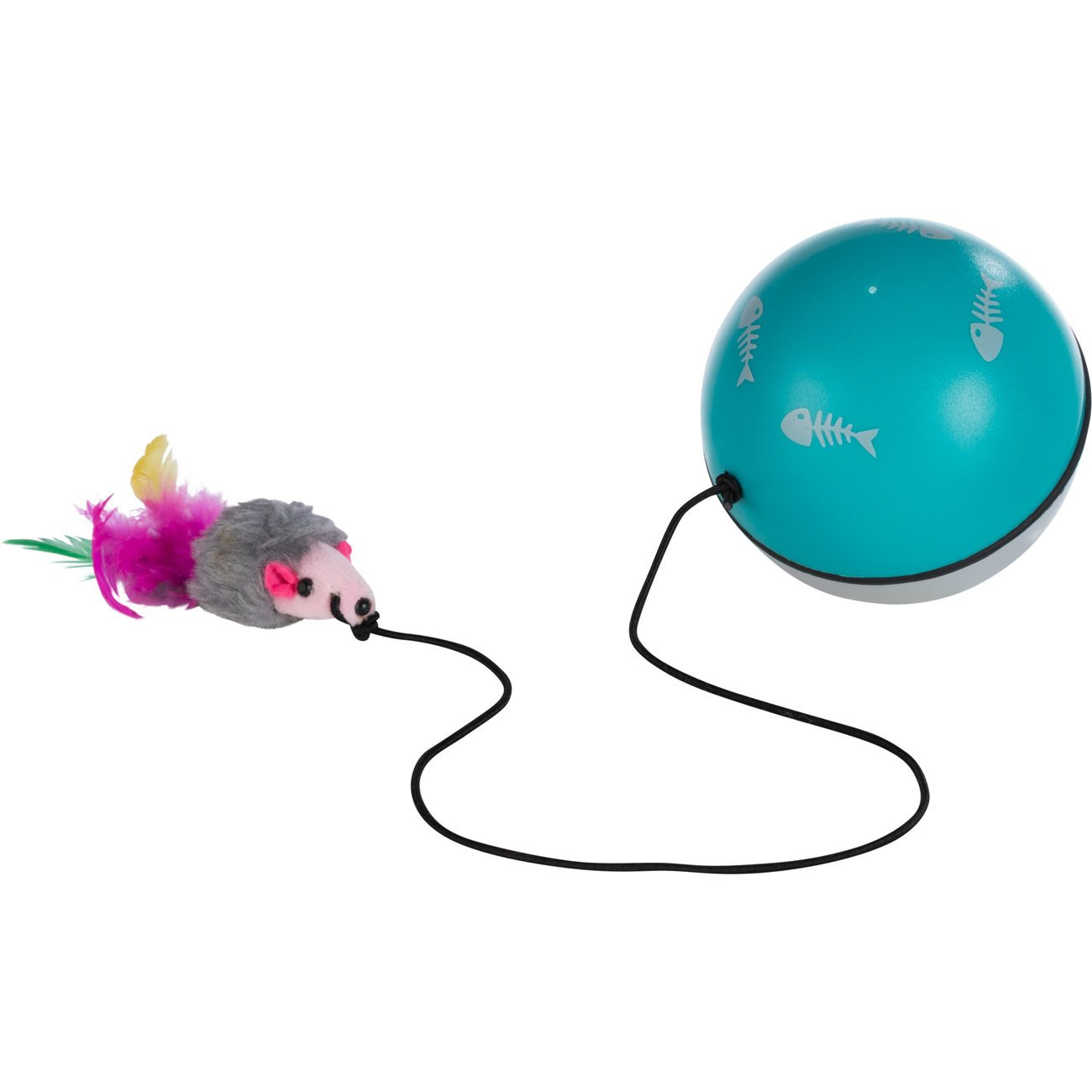TRIXIE Katzenball Turbinio mit Motor und Maus 4564, Bild 2