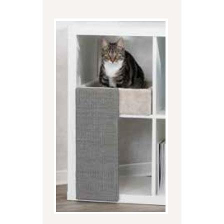 Trixie Katzenbett mit Kratzbrett für Regale 44085, Bild 2