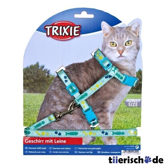 Trixie Katzengeschirr mit Leine aus Nylon 4209, Bild 2