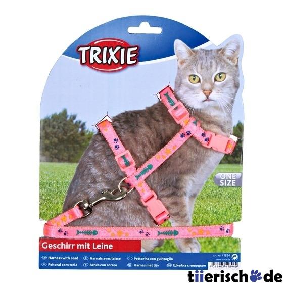 Trixie Katzengeschirr mit Leine aus Nylon 4209, Bild 3