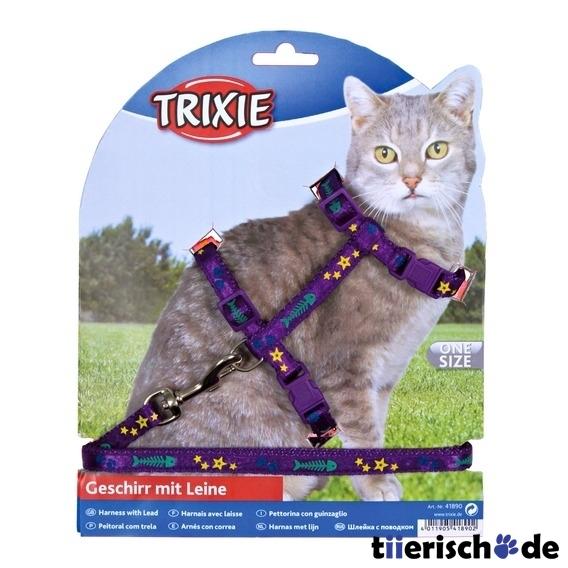 Trixie Katzengeschirr mit Leine aus Nylon 4209, Bild 4