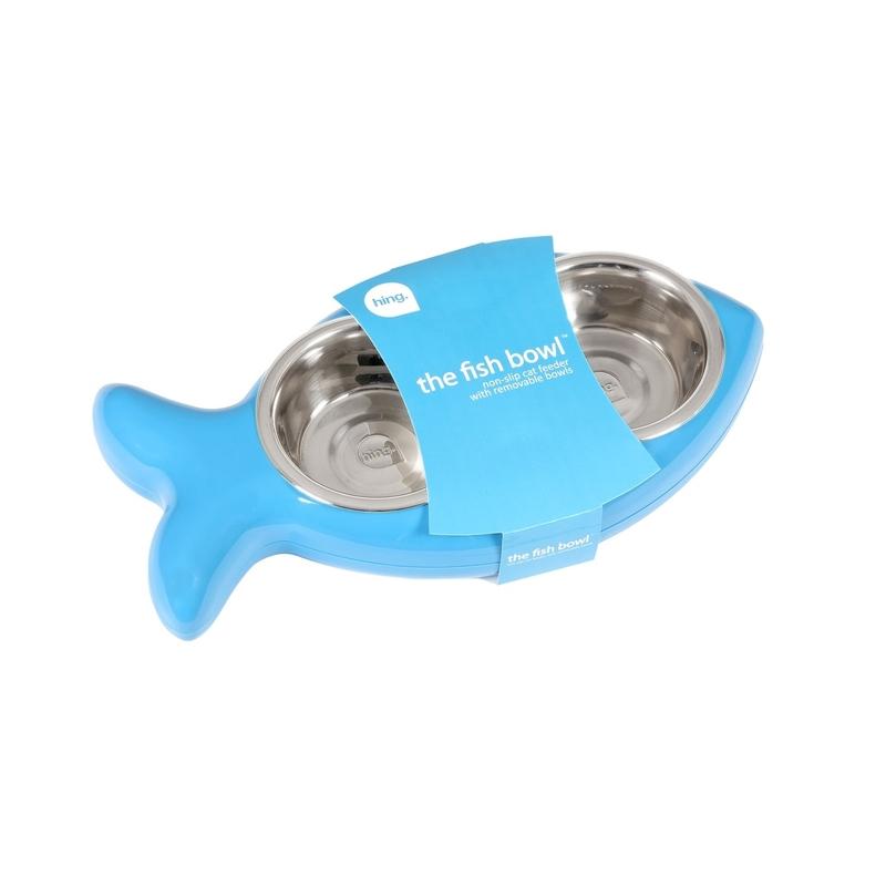 Hing Designs The Fish Bowl Katzennapf in Fischform, Bild 5