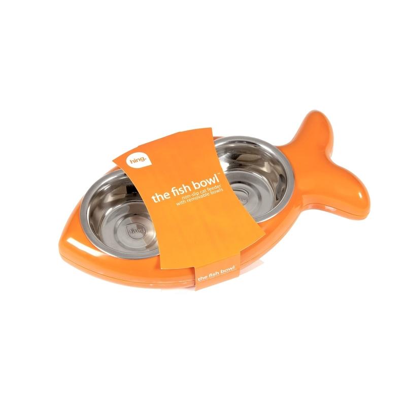 Hing Designs The Fish Bowl Katzennapf in Fischform, Bild 2