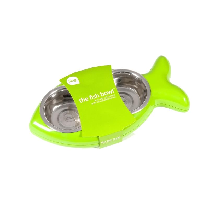 Hing Designs The Fish Bowl Katzennapf in Fischform, Bild 9