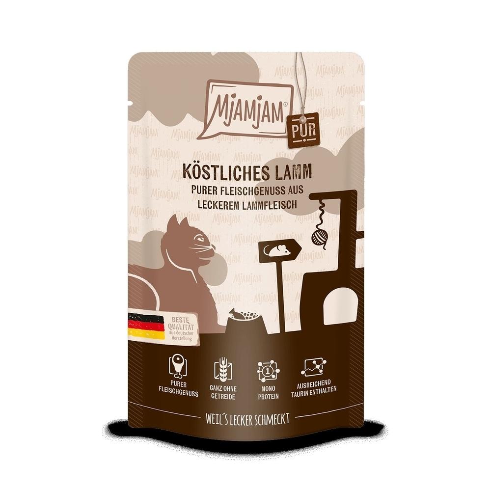 MjAMjAM Katzennassfutter - Quetschie der purer Fleischgenuss, Bild 11
