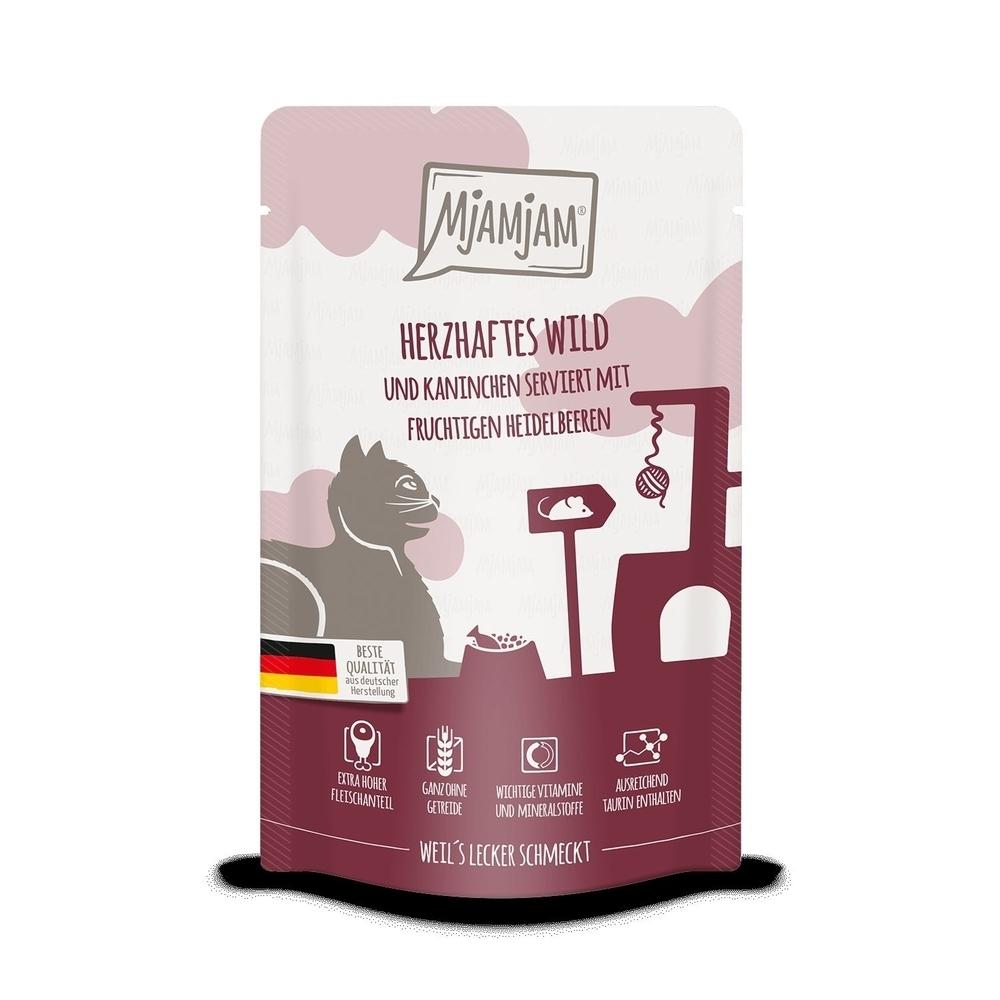 MjAMjAM Katzennassfutter - Quetschie der purer Fleischgenuss, Bild 4