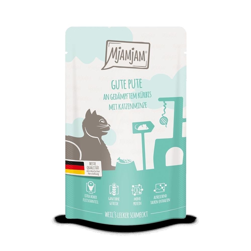 MjAMjAM Katzennassfutter - Quetschie der purer Fleischgenuss, Bild 6