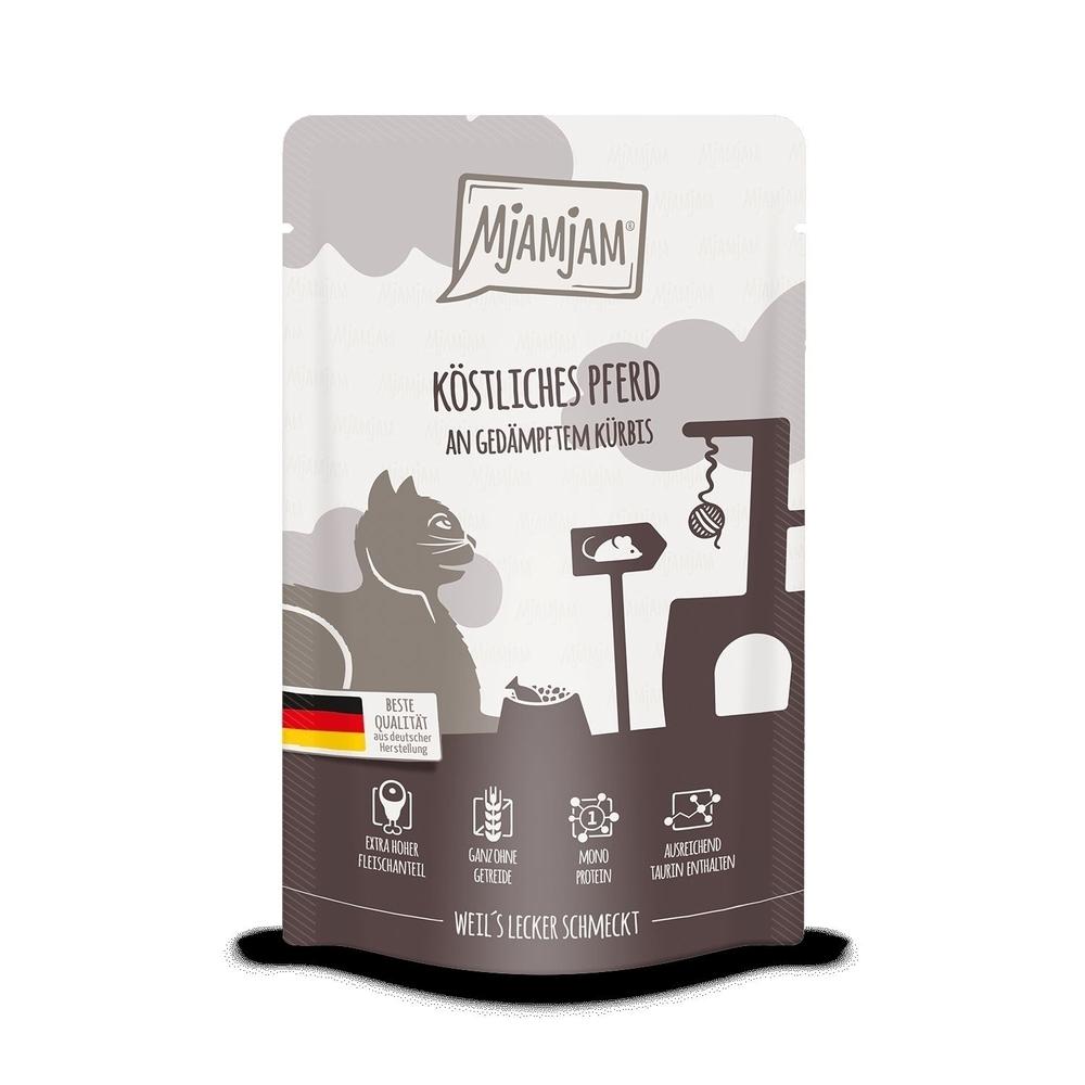 MjAMjAM Katzennassfutter - Quetschie der purer Fleischgenuss, Bild 7