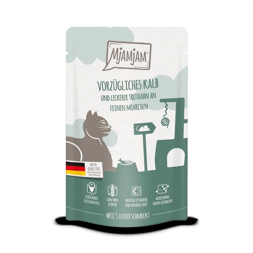 MjAMjAM Katzennassfutter - Quetschie der purer Fleischgenuss, Bild 8