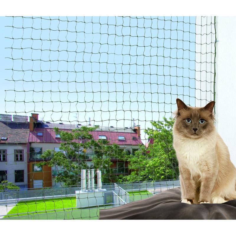 Trixie Katzennetz für Balkon, drahtverstärkt 44291