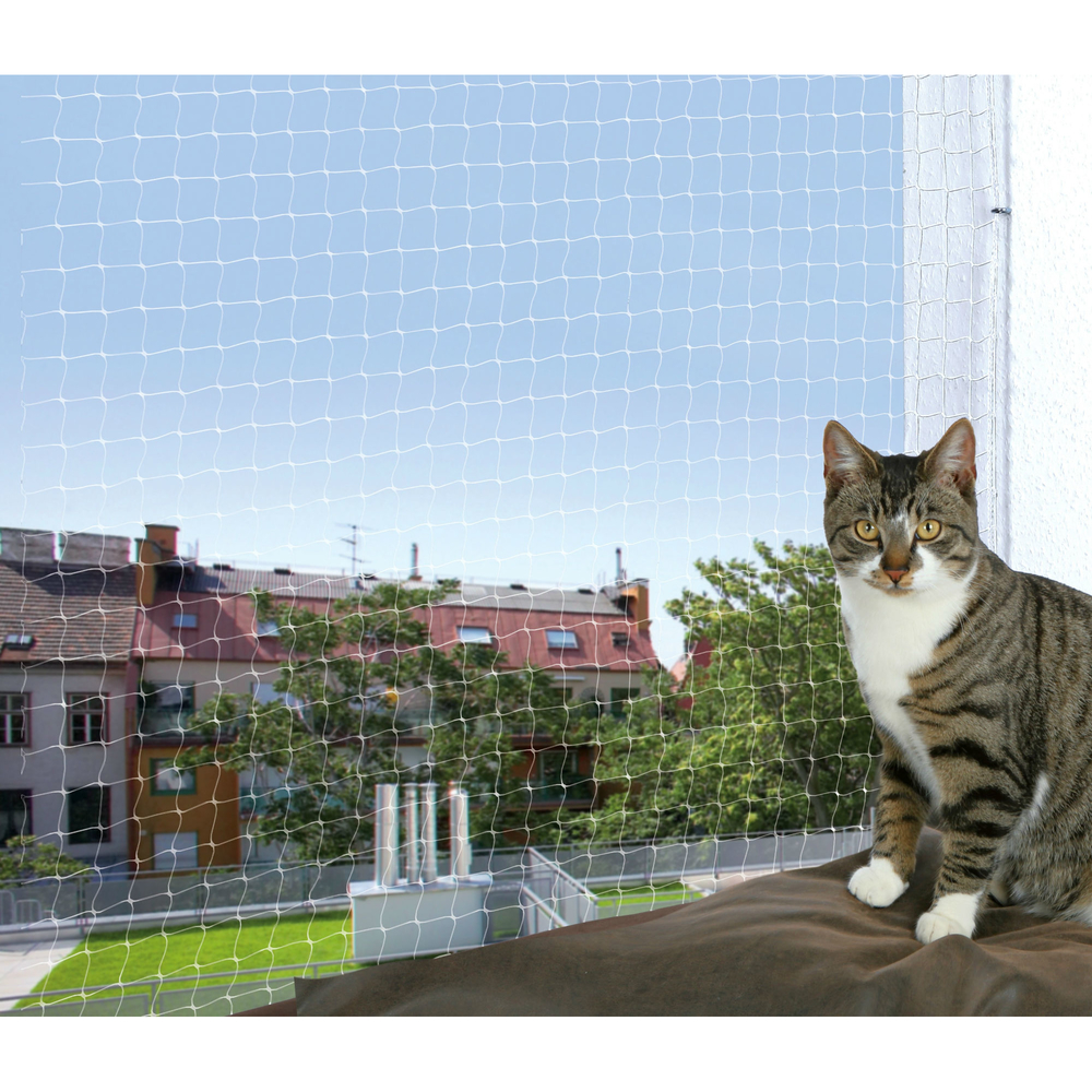 TRIXIE Katzenschutznetz mit Montage Befestigung 44301, Bild 3
