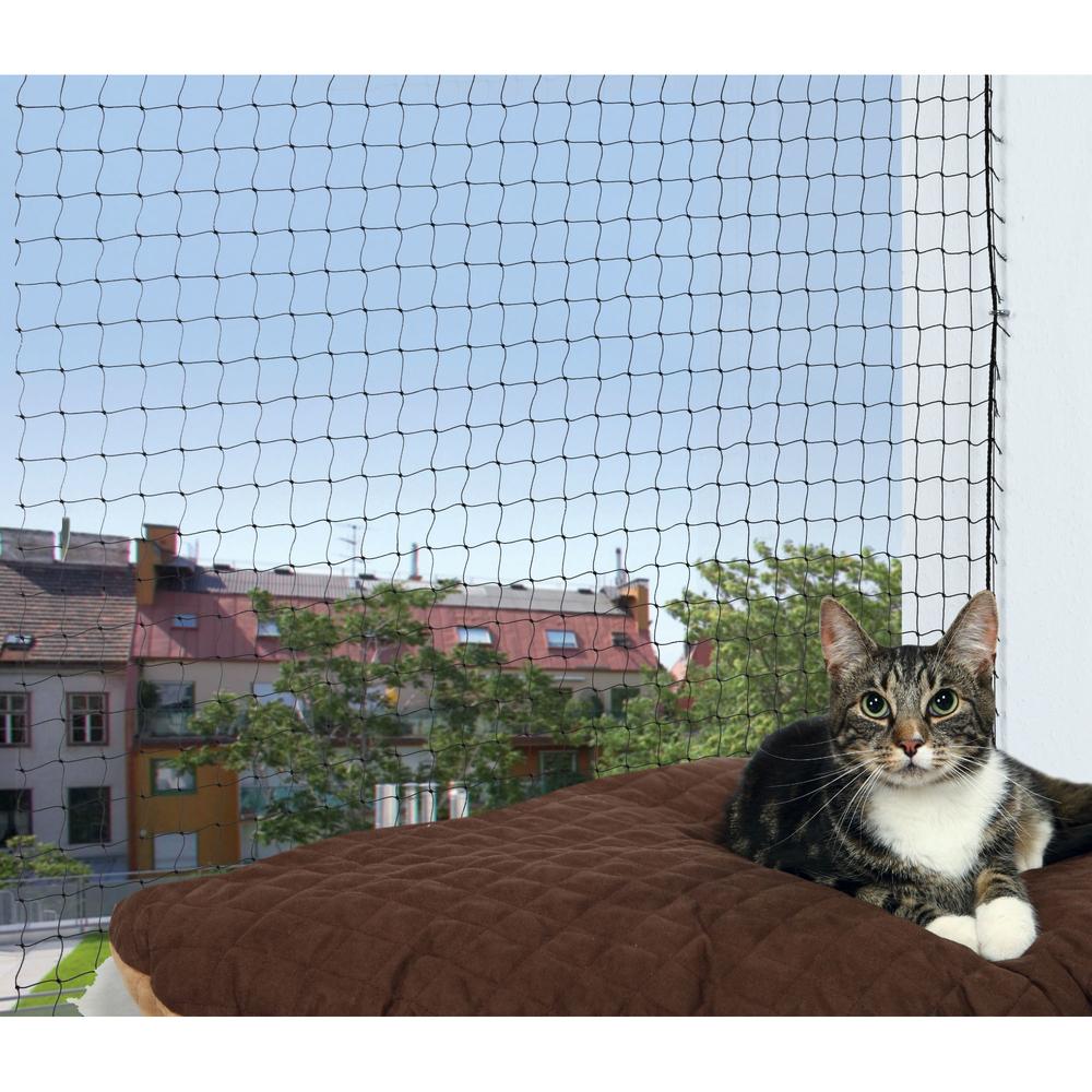 TRIXIE Katzenschutznetz mit Montage Befestigung 44301