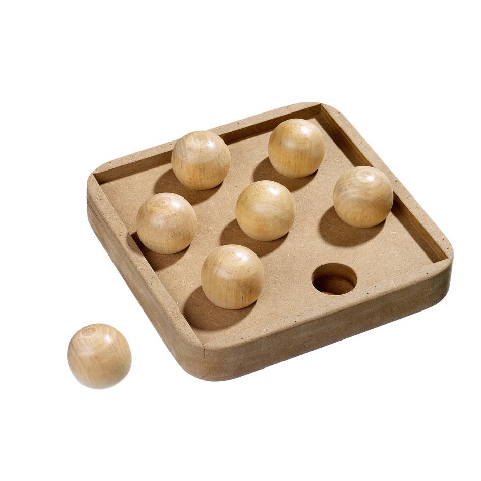 Karlie Katzenspielzeug Kitty Brain Train, Boccia, Boccia L: 19 cm B: 19 cm H: 3 cm